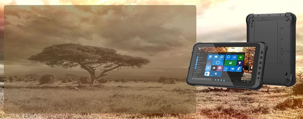Rugged Tablet T 610-5 IP geschützt